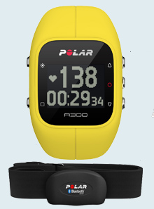Пульсометр Polar A300 yellow HR