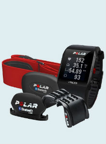 Пульсометр Polar V800 Combo HR Black